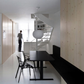 Compact Apartment Design by Amsterdam Architects
