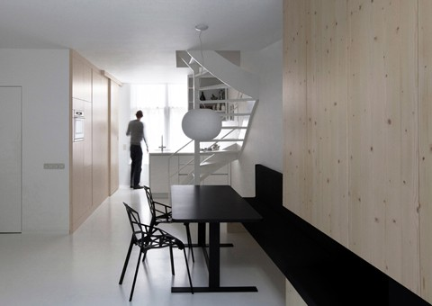 compact apartment design amsterdam architects 1 Compact Apartment Design by Amsterdam Architects