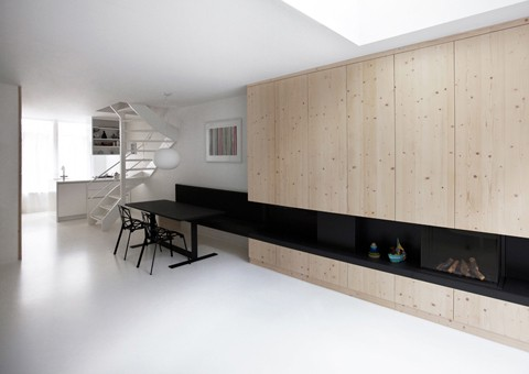 compact apartment design amsterdam architects 2 Compact Apartment Design by Amsterdam Architects