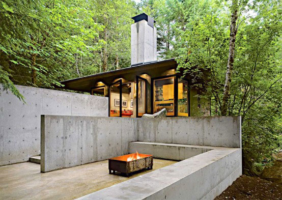 compact river cabin design washington 2 Compact River Cabin Design in Washington