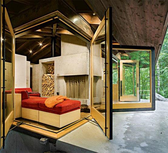 Compact Unfolding Cabin Washington