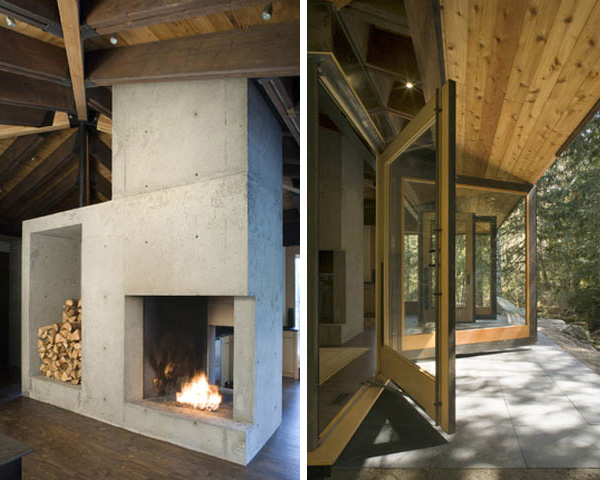 Compact River Cabin Design In Washington