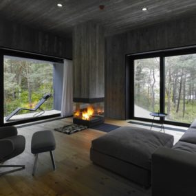 Concrete and Timber Seaside House