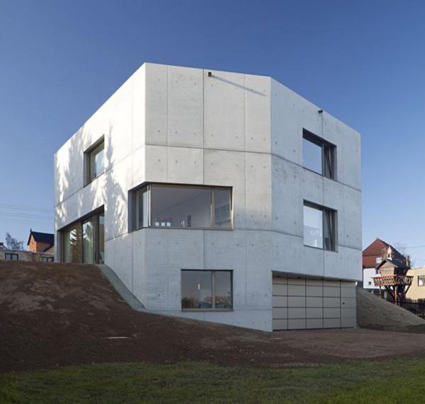 concrete home designs zwickau germany 8