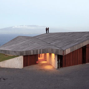 Concrete House Built for Strong Winds