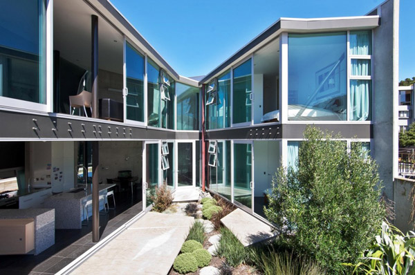 Concrete house designs challenging new zealand architecture for Home designs new zealand