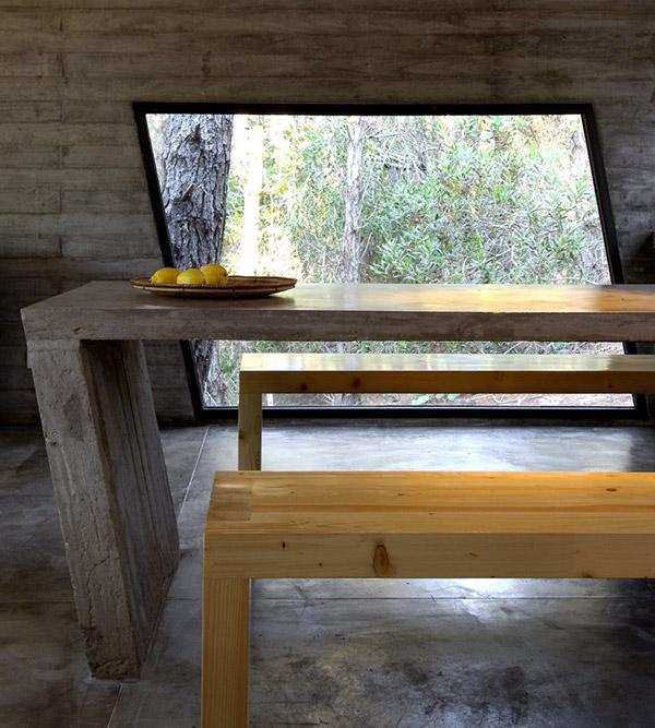 concrete house plan bak architects argentina 17