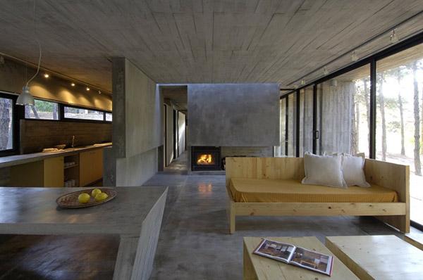 Concrete House Plan Bak Architects Argentina 18 Part 69