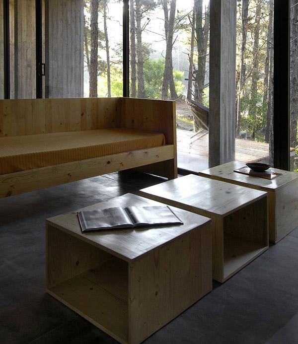 concrete house plan bak architects argentina 20