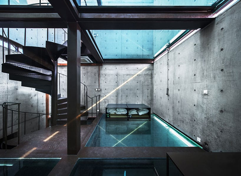 View In Gallery Concrete Tower House With See Through Floors 5