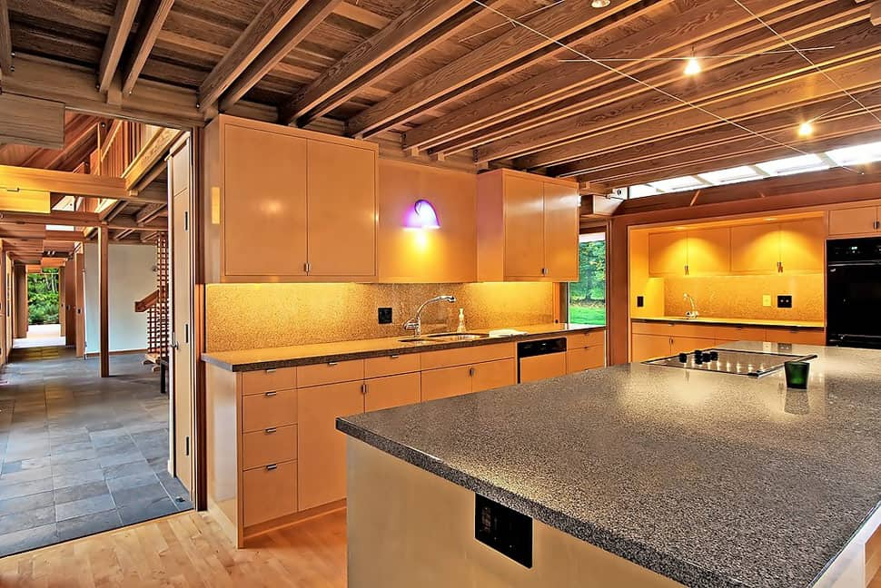 View In Gallery Contemporary Cabin Chic Mountain Home Of Glass And