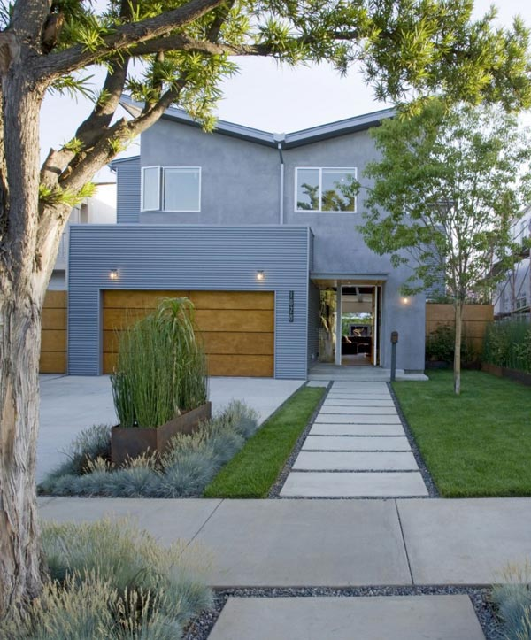 contemporary california houses suburban industrial design 1