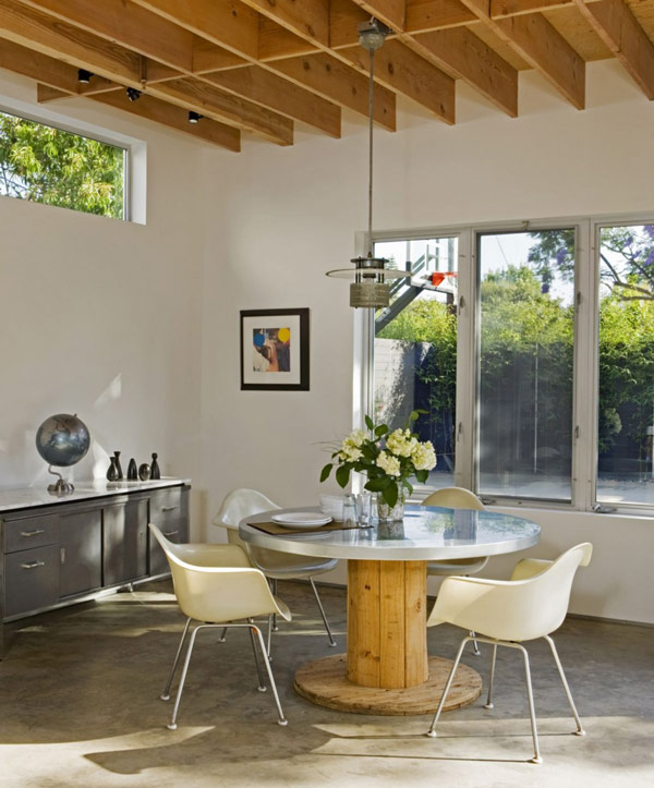 Contemporary California Houses Suburban Industrial Design 4