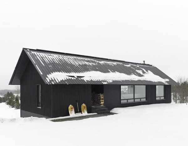 Contemporary Chalet House Plans Canadian Winter Wonderland