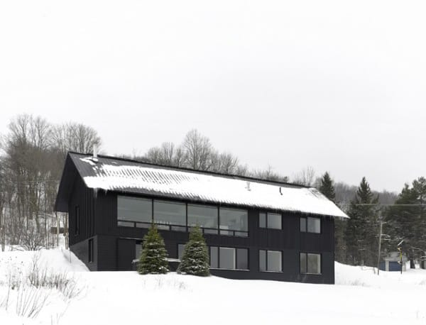 Contemporary Chalet House Plans 11 Canadian Winter Wonderland