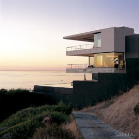 Contemporary coastal house made for family living, entertaining and views