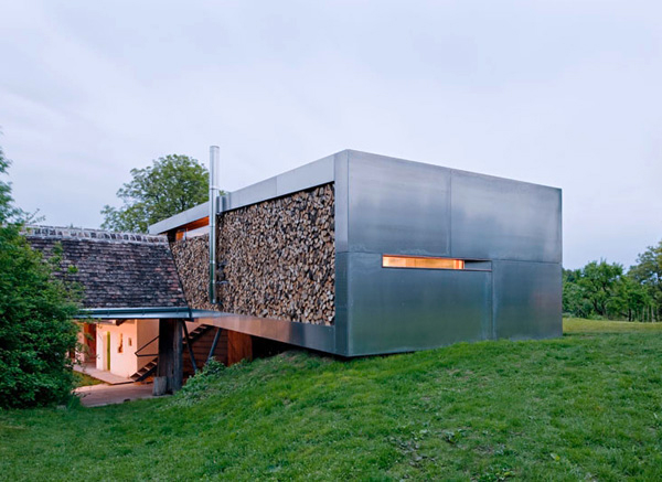 contemporary country house austrian architects 1
