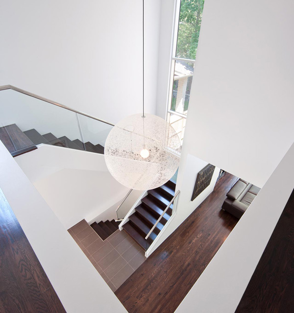 modern stairwell lighting. view in gallery contemporarygallerystylehomeinurbanottawa5 modern stairwell lighting