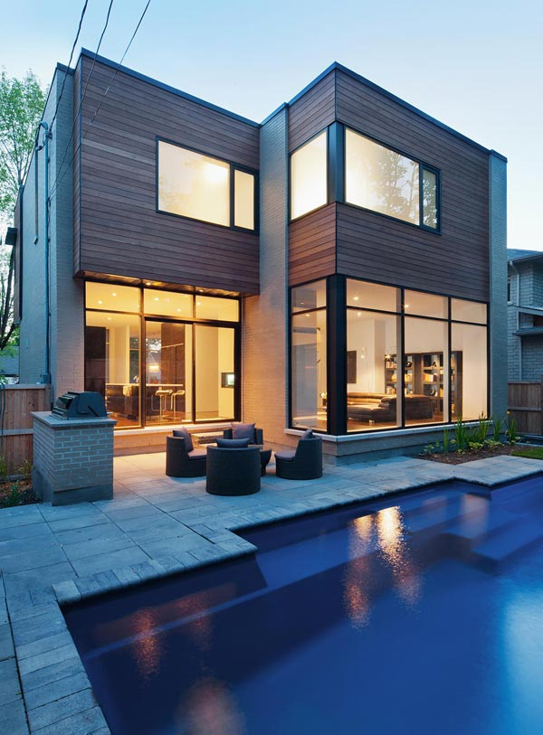 Contemporary Gallery Style Home In Ottawa S Urban Core