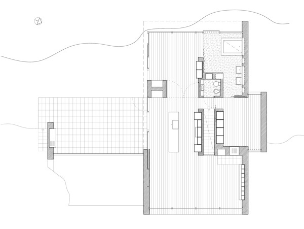 Contemporary Hillside House Plan Wrb 9