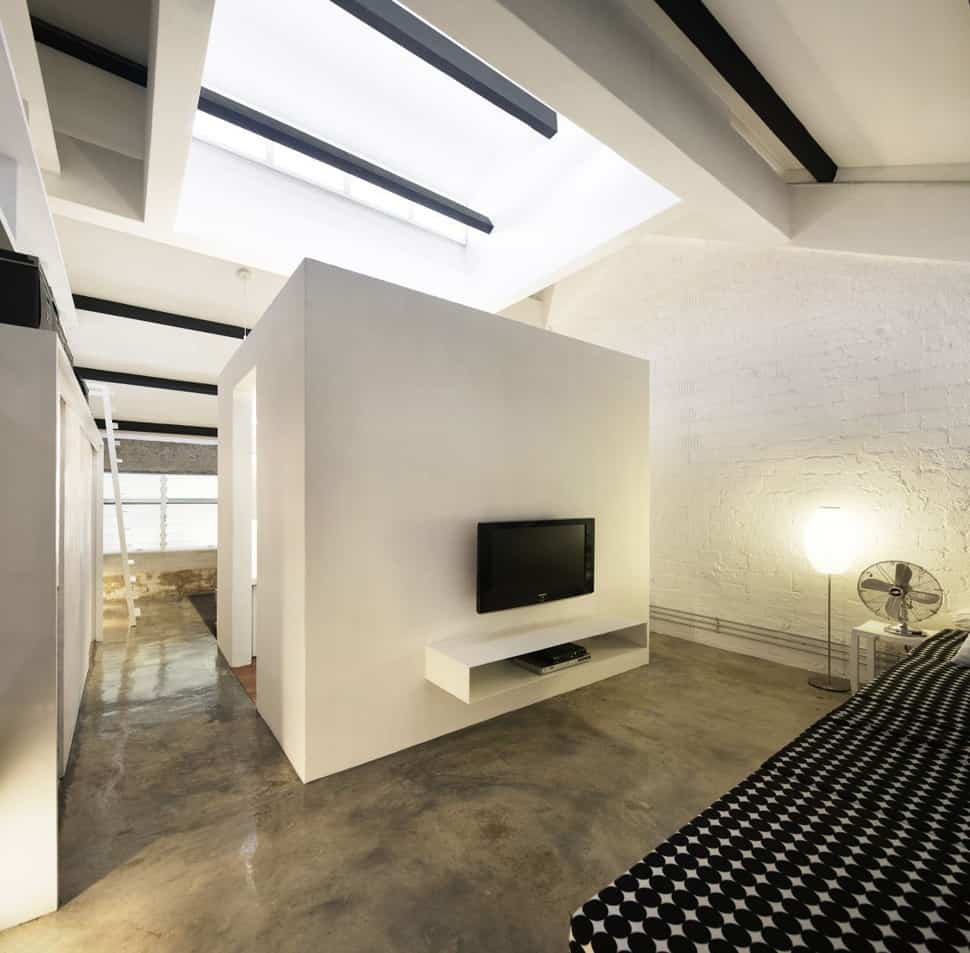 View In Gallery Contemporary Loft Design  Idea Showcases Original Industrial Elements