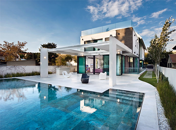contemporary mediterranean house a private paradise 1