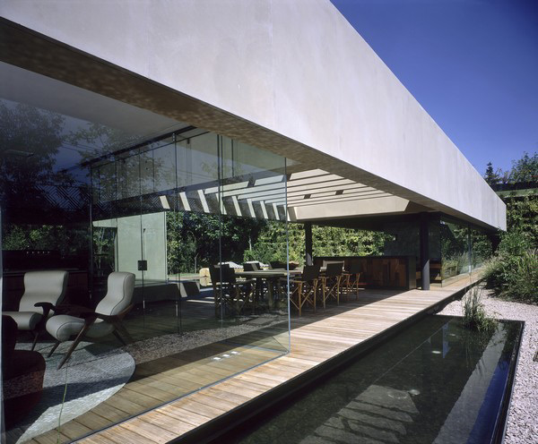 contemporary mexican architecture glass walls outdoor living 7