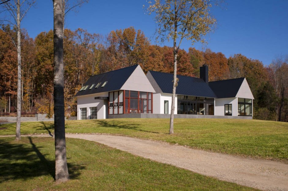 Contemporary take on the warm country home for Country house modern
