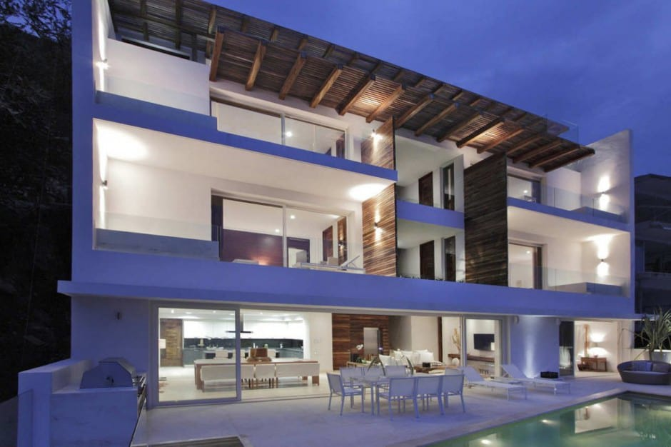 Exceptionnel View In Gallery Contemporary View House In Mexican Paradise 1 Thumb 630x419  10199 Contemporary View House In Mexican Paradise