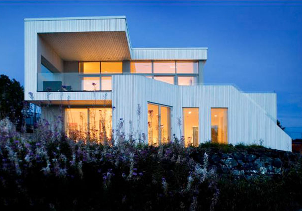 contemporary villa design norway Contemporary Villa Design   Norway villas reflect Nordic architecture