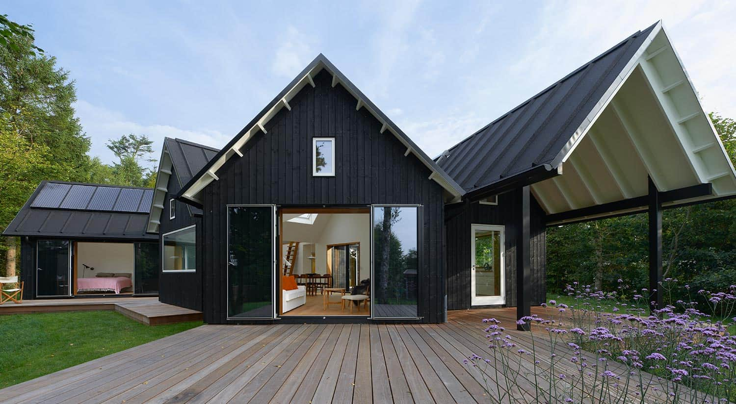 Contemporary yet Traditional Danish Summer Cabin