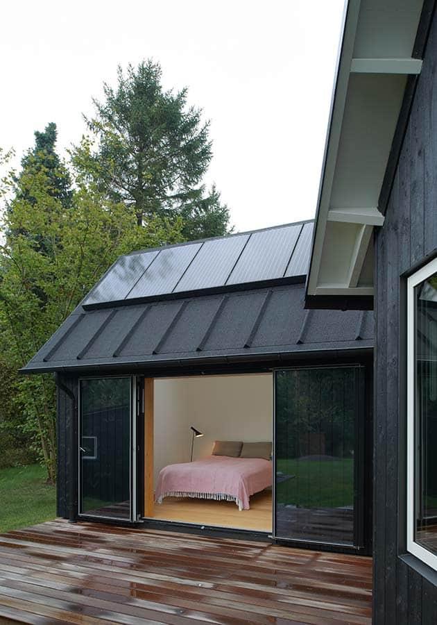 Contemporary yet Traditional Danish Summer Cabin | Modern ...