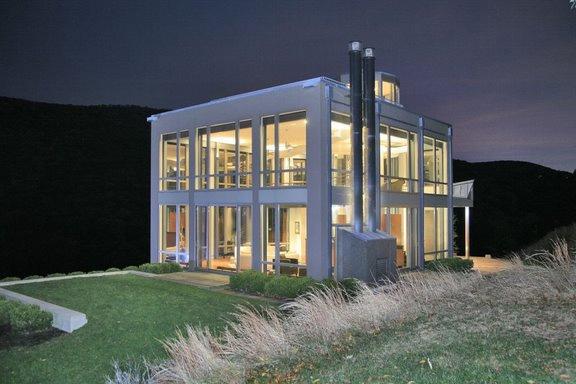 contermporary glass house 10