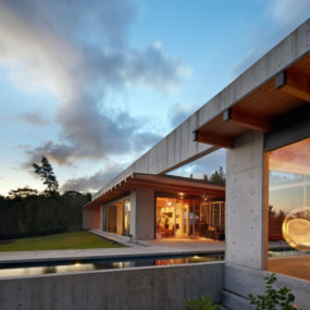 Wide open home plan on Big Island of Hawaii