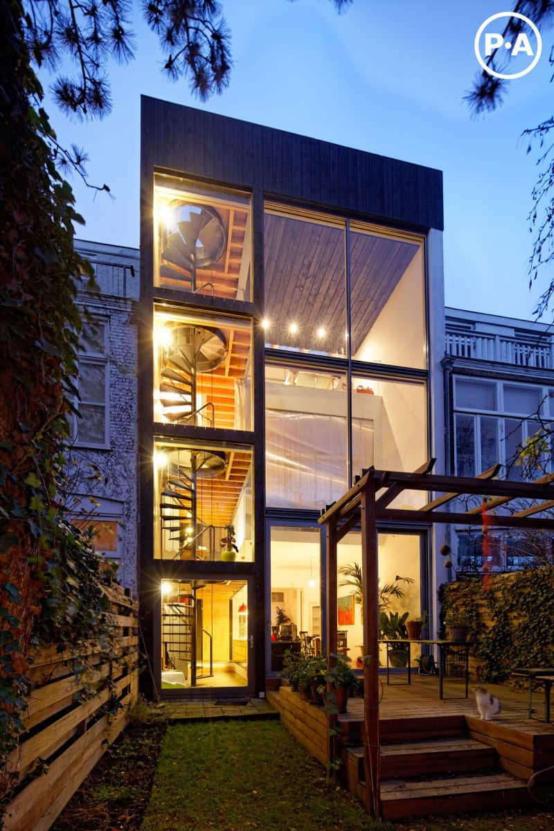 Cool Netherlands House With Four Story Spiral Staircase