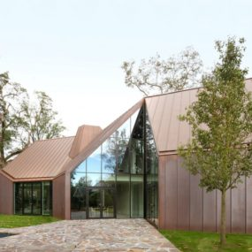 Copper and Glass House