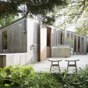 Cozy Compact Cottages: Netherlands Poplar Garden House