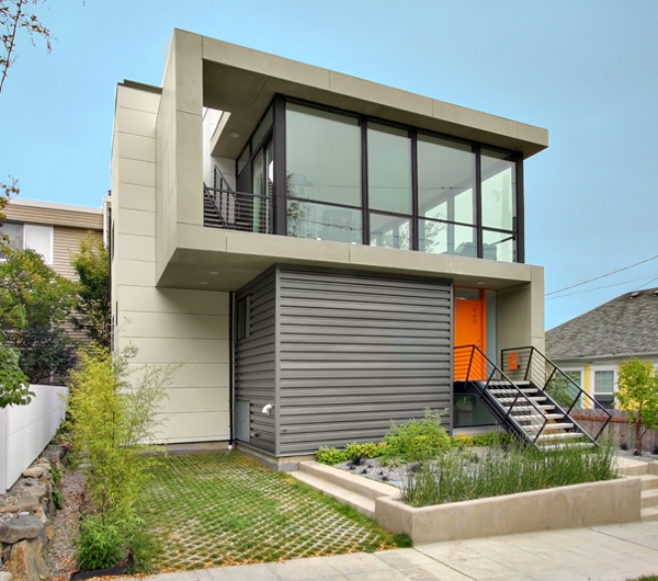 crockett residence 1 Small Houses on Small Budget by Pb Elemental Architects