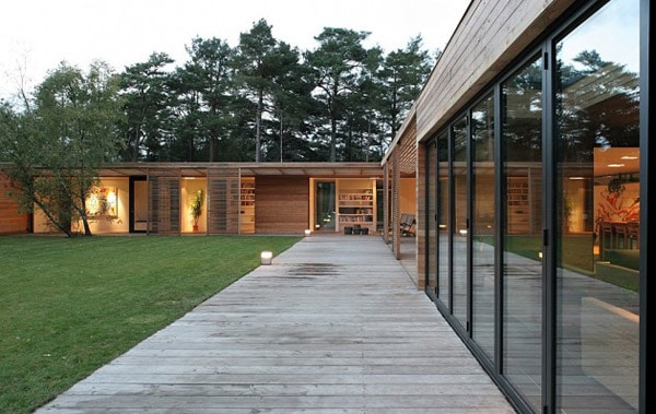 Danish Atrium House