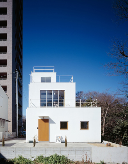 deck douse plans japanese modern architecture 1 Deck House Plan by Takeshi Hosaka Architects