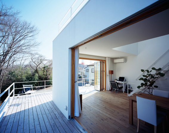 deck douse plans japanese modern architecture 3 Deck House Plan by Takeshi Hosaka Architects
