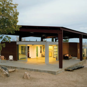 Sustainable Desert House Design – Recycled, Reused and Naturally Cool