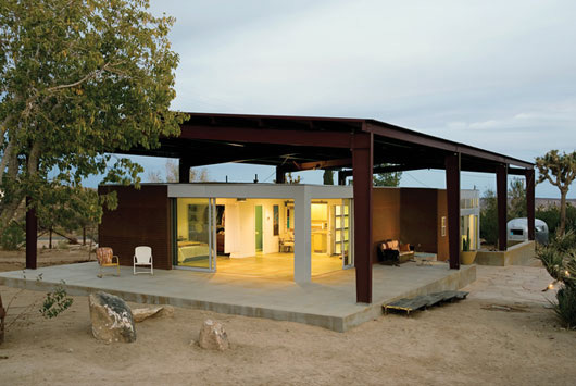 desert home sustainable house design 1 Sustainable Desert House Design   Recycled, Reused and Naturally Cool