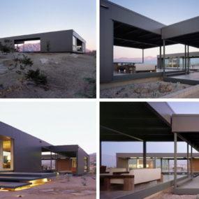 Modern Prefab House in Desert Hot Springs