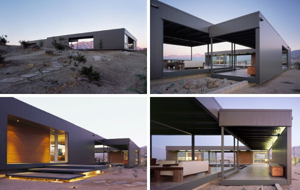 Modern Prefab House in Desert Hot Springs