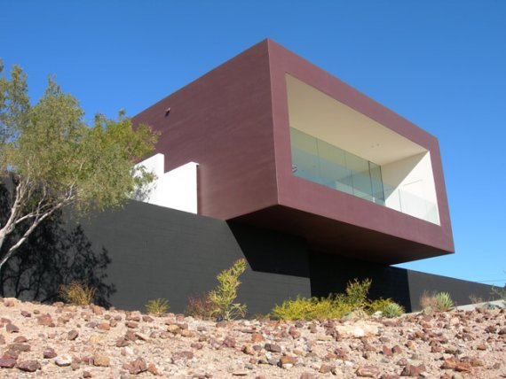 dialogue house 1 Contemporary Dialogue House in Arizona Desert Speaks Volumes