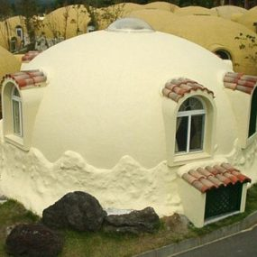 Prefab Styrofoam Dome House – Futuristic Japanese design