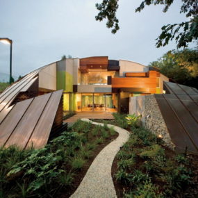 "Dome House – A deconstructed puzzle they call ""home"""