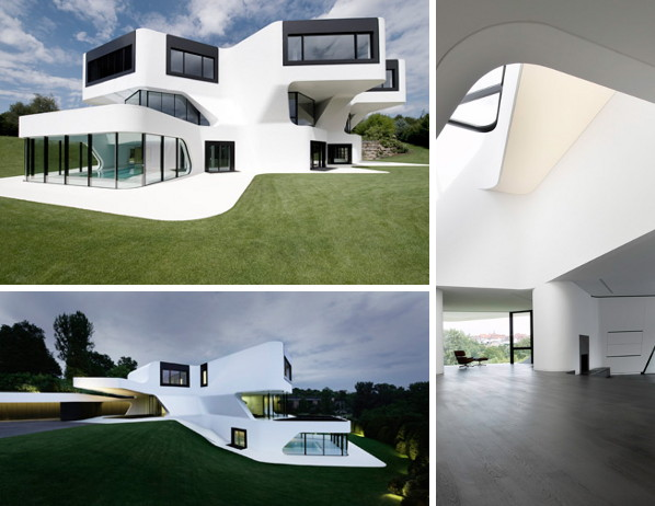 dupli casa 1 Modern Residential Architecture in Germany   Dupli.Casa futuristic design