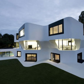 Modern Residential Architecture in Germany – Dupli.Casa futuristic design